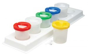 Safety Paint Pot & Stand Set